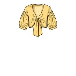 1459 simplicity dresses pattern 1459 front back vi