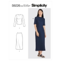 1simplicity sleeve interest top pattern 8694 a