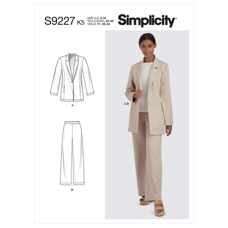 8691 simplicity sew chic dress pattern 8691 AV3