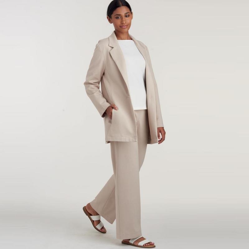 8691 simplicity sew chic dress pattern 8691 AV2