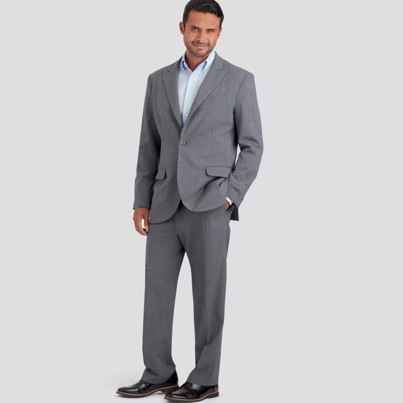 8697 simplicity boyfriend blazer pattern 8697 AV1