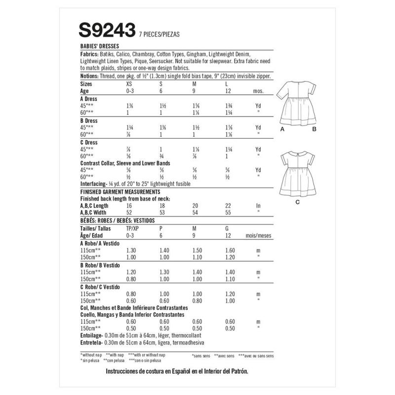 7simplicity vintage sleeves 1930s pattern 8695