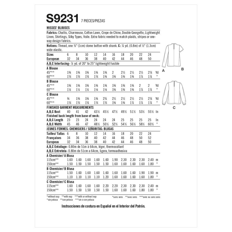1simplicity buttoned wrap skirt pattern 8699 a