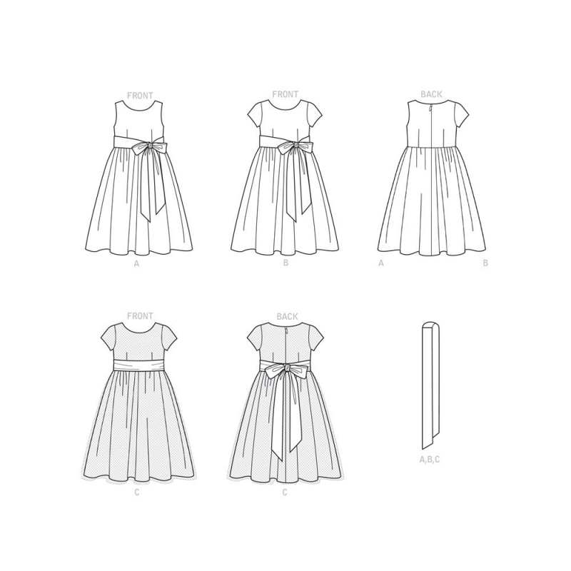 8699 simplicity buttoned wrap skirt pattern 8699 f