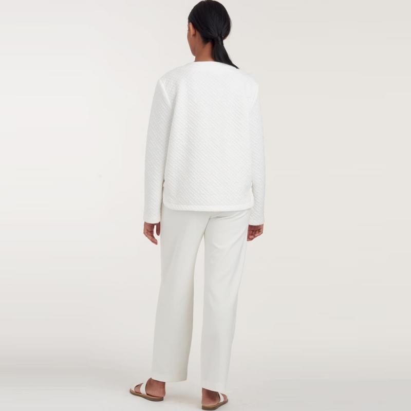 8735 simplicity wrap dress pattern 8735 AV4