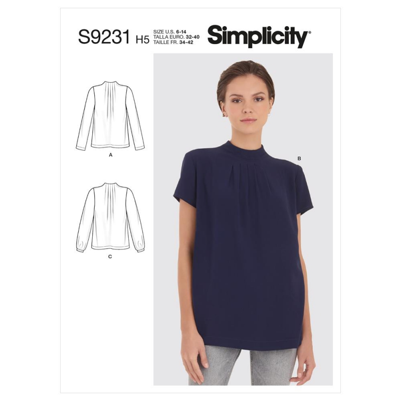 8735 simplicity wrap dress pattern 8735 AV6