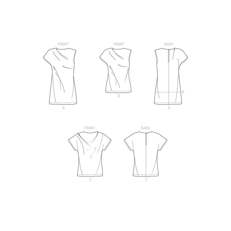 6 simplicity amazing fit knit dress pattern 87