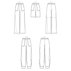 8735 simplicity wrap dress pattern 8735 AV2