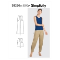 8735 simplicity wrap dress pattern 8735 AV5