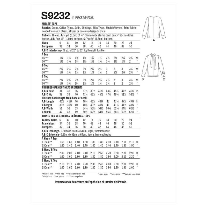 8736 simplicity vintage blouse 1940s pattern 8736