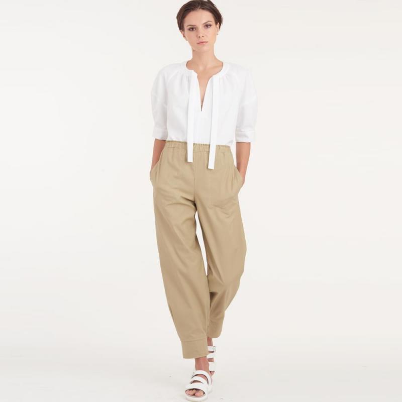 8737 simplicity top silky blouse pattern 8737 AV3