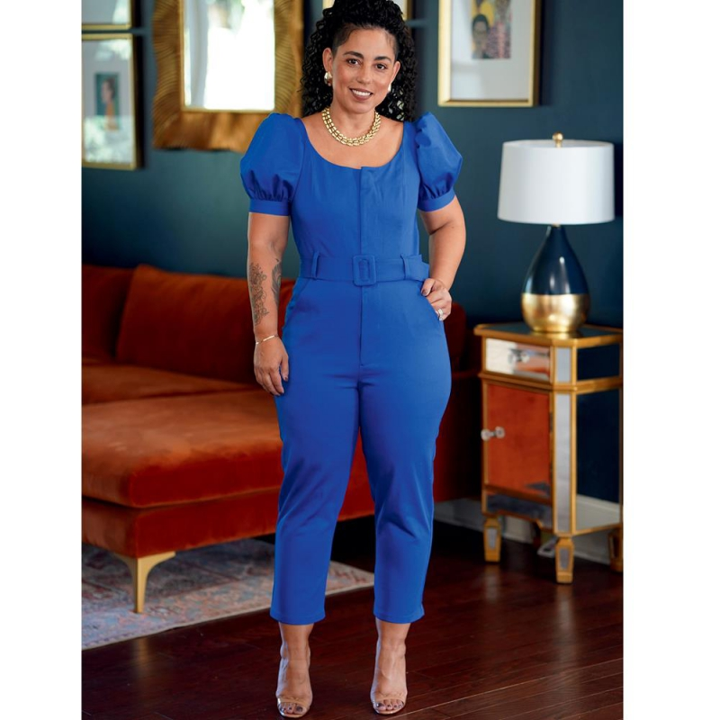 8737 simplicity top silky blouse pattern 8737 fron