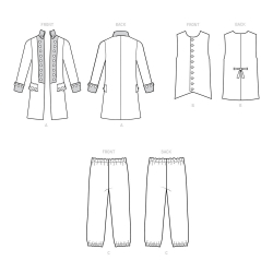 2 simplicity special occasion pleated skirt pa
