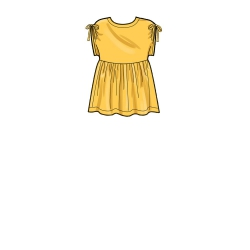 8787 simplicity learn to sew ruched dress pattern