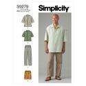 8791 simplicity woven wrap top pattern 8791 AV1