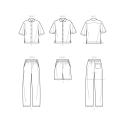 8791 simplicity woven wrap top pattern 8791 envelo