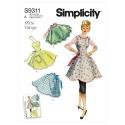 1559 simplicity skirts pants pattern 1559 AV1A