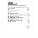 Wykrój Simplicity SS9306