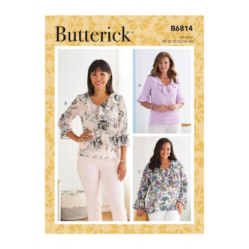 Wykrój Butterick B6814