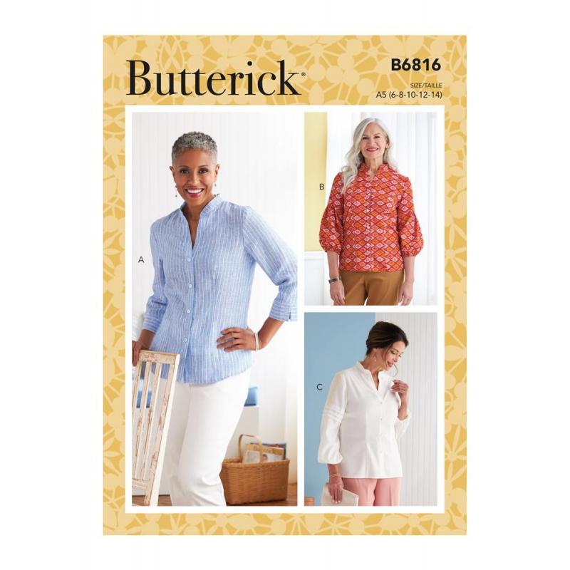 Wykrój Butterick B6816