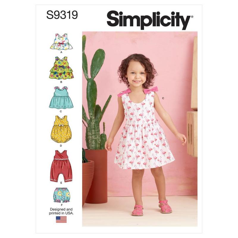 Wykrój Simplicity SS9319
