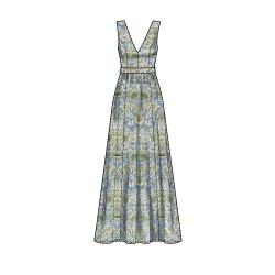 8756 simplicity girls poncho pattern 8756 AV1