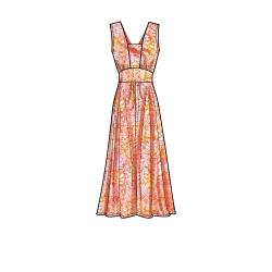 8756 simplicity girls poncho pattern 8756 AV2