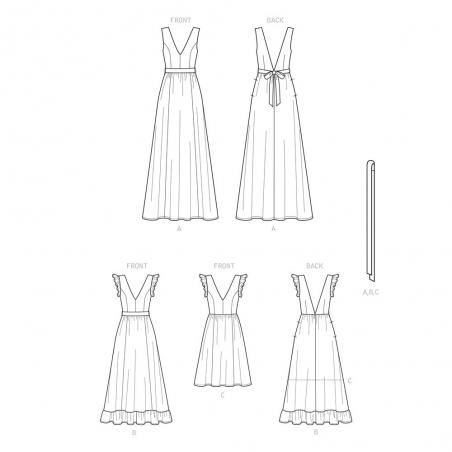 7 simplicity child girl party tulle dress patt