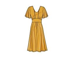 8756 simplicity girls poncho pattern 8756 AV3
