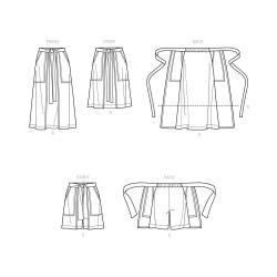5 simplicity verity hope wrap apron dress patt