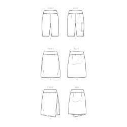 8 simplicity verity hope wrap apron dress patt