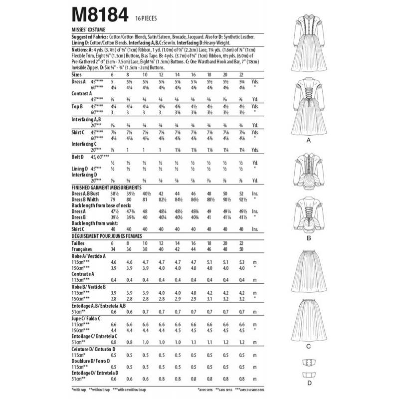 8794 simplicity bow sportswear pattern 8794 AV3