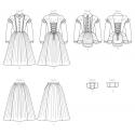 simplicity wrap jacket sportswear pattern 8795