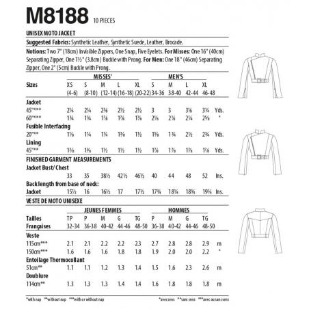 simplicity classic  8796 envelope front