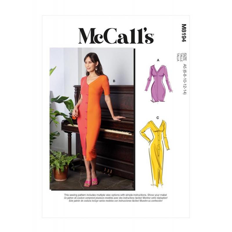 Wykrój McCall's M8194