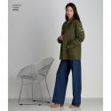 1 simplicity pleated maxi dress pattern s8832