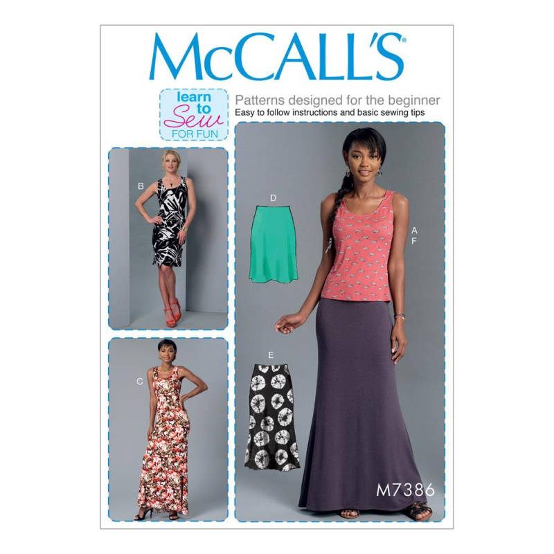 Wykrój McCall's M7386