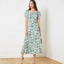 simplicity pleated maxi dress pattern s8832