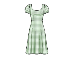 S8856 simplicity mother daughter babydoll dress pa