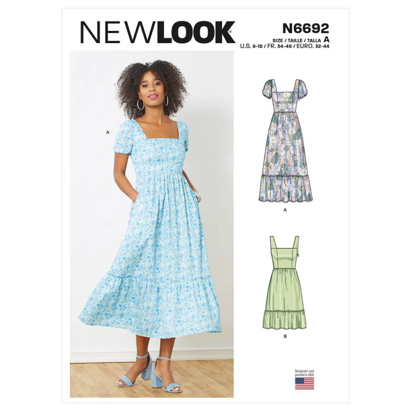 S8836 simplicity fitted dress pattern S8836 AV2
