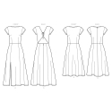 1773 simplicity costumes pattern 1773 front back v