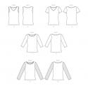 8604 simplicity peplum jacket pattern 8604 AV2