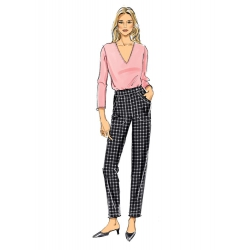 8612 simplicity wrap skirt pattern 8612 AV3