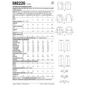 8640 simplicity linen dress pattern 8640 AV5