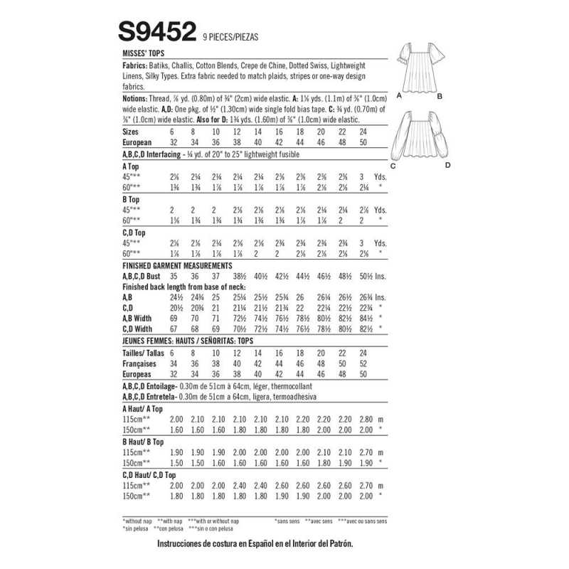simplicity shirt dress pattern 8384 envelope f