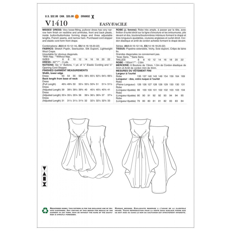 simplicity skirts pants pattern 1427 envelope