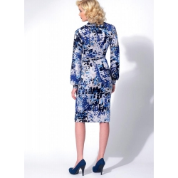 8511 simplicity shift dress pattern 8511 front bac