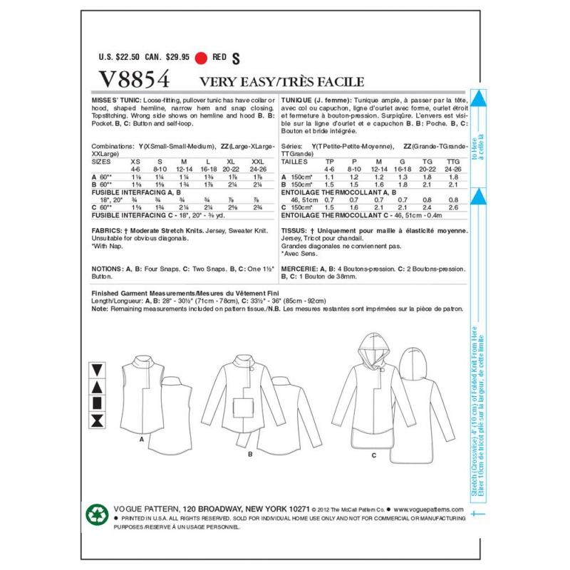 8511 simplicity shift dress pattern 8511 AV5