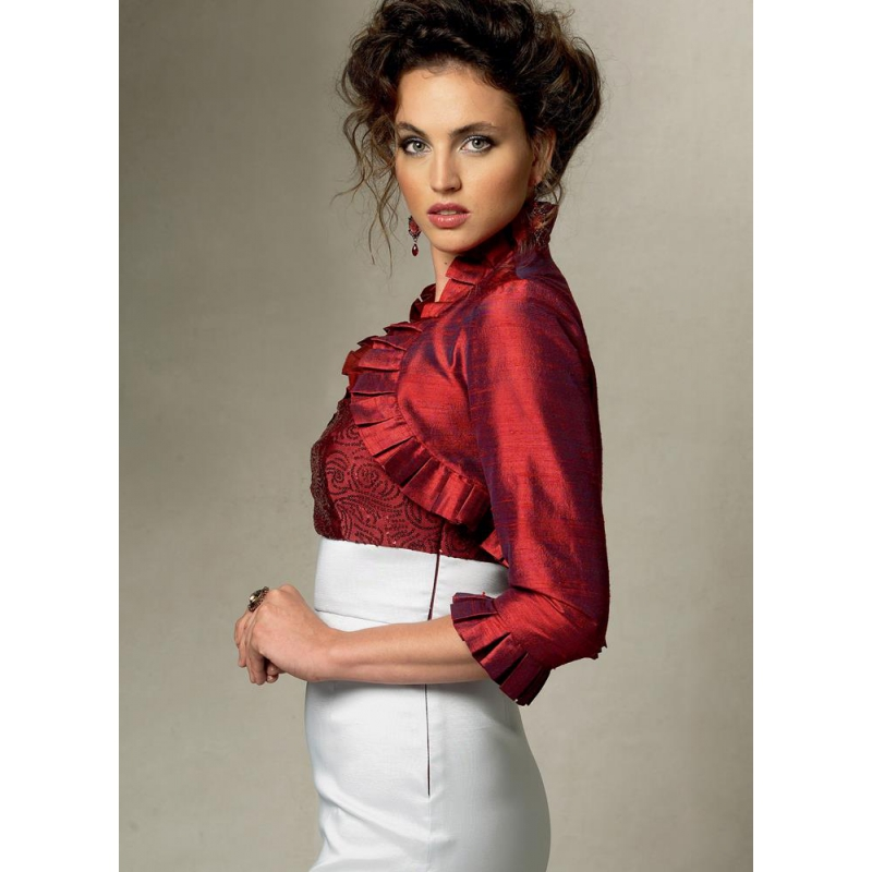 8511 simplicity shift dress pattern 8511 AV2