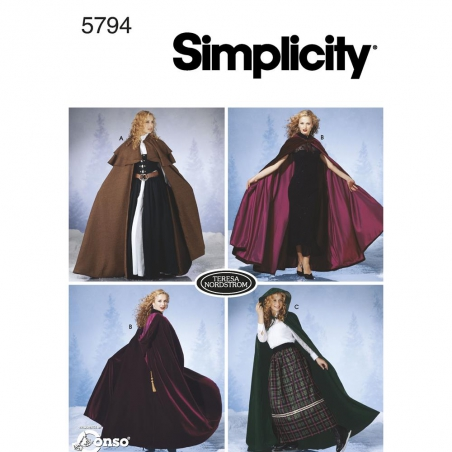 5794 simplicity costumes pattern 5794 envelope fro